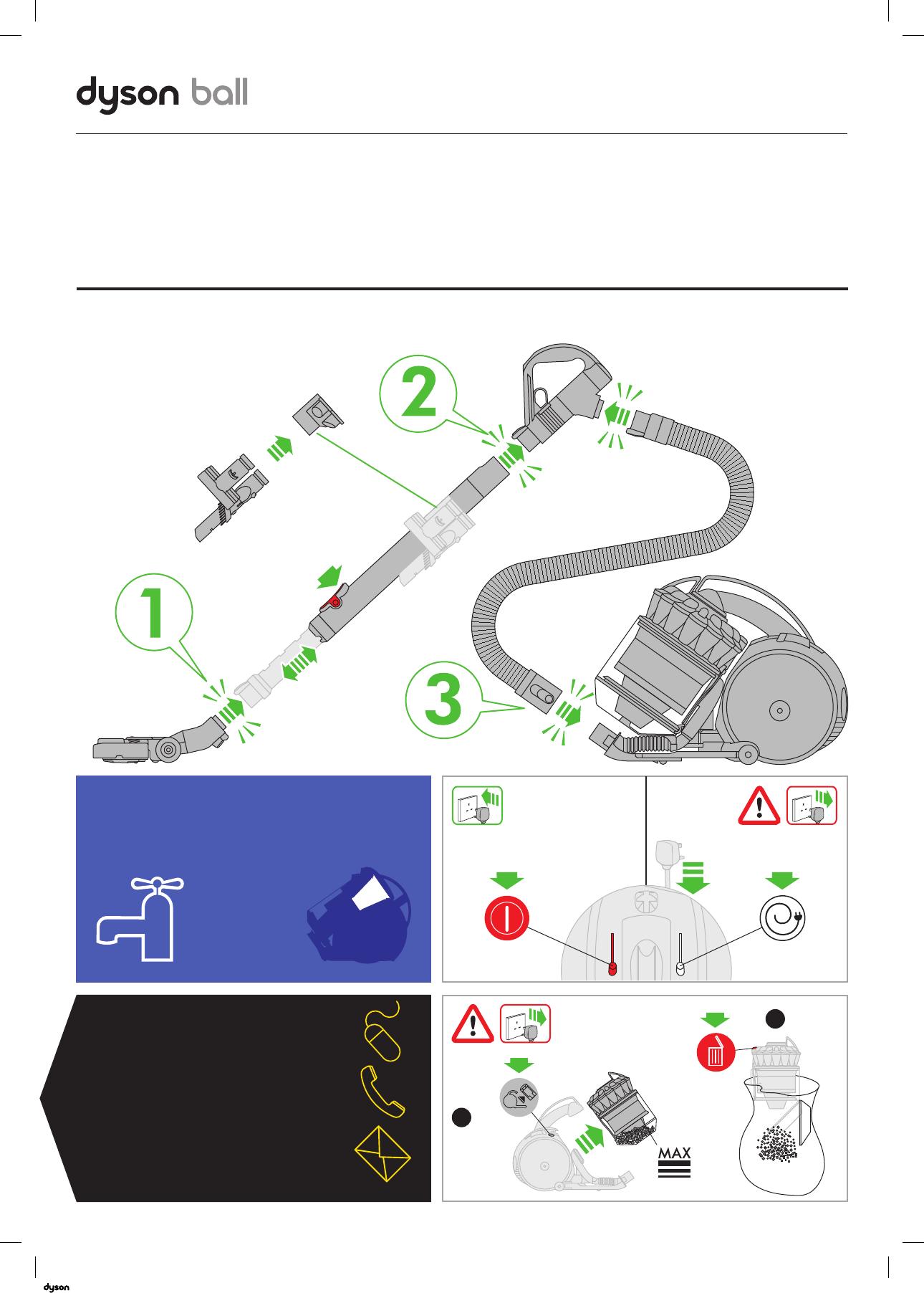 Dyson ball пылесос инструкция вентиляторы дайсон в москве
